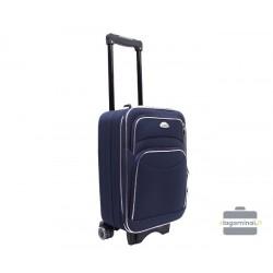 Mažas medžiaginis lagaminas Deli 101-M Tamsiai mėlynas