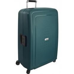 Labai didelis plastikinis lagaminas Samsonite S-Cure DLX LD Žalias