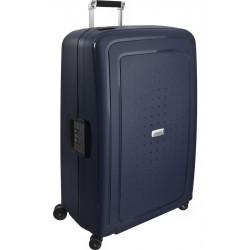 Labai didelis plastikinis lagaminas Samsonite S-Cure DLX LD Mėlynas