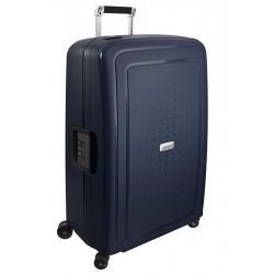 Didelis plastikinis lagaminas Samsonite S-Cure DLX D Mėlynas