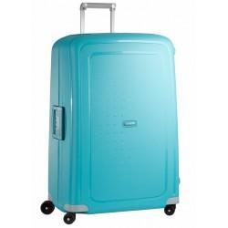 Labai didelis plastikinis lagaminas Samsonite S-Cure LD Mėlynas (Aqua Blue)