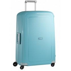 Didelis plastikinis lagaminas Samsonite S-Cure D Mėlynas (Aqua Blue)