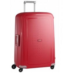 Didelis plastikinis lagaminas Samsonite S-Cure D Raudonas (Crimson Red)