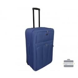 Didelis medžiaginis lagaminas Deli 404-D Tamsiai mėlynas