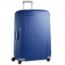 Labai didelis plastikinis lagaminas Samsonite S-Cure LD Mėlynas (Dark Blue)