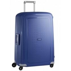 Didelis plastikinis lagaminas Samsonite S-Cure D Mėlynas (Dark Blue)