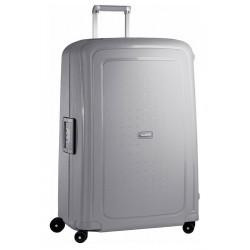 Labai didelis plastikinis lagaminas Samsonite S-Cure LD Sidabro spalva