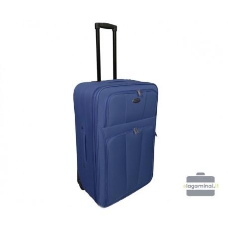 Vidutinis medžiaginis lagaminas Deli 404-V Tamsiai mėlynas
