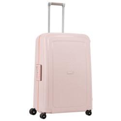 Didelis plastikinis lagaminas Samsonite S-Cure D Rožinis