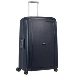 Labai didelis plastikinis lagaminas Samsonite S-Cure LD Mėlynas (Navy Blue Capri)