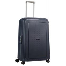 Didelis plastikinis lagaminas Samsonite S-Cure D Mėlynas (Navy Blue Capri)