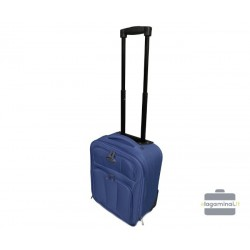Mažas Wizzair medžiaginis lagaminas Deli 404-LMW Tamsiai mėlynas