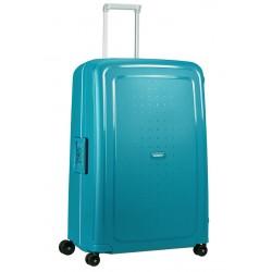Labai didelis plastikinis lagaminas Samsonite S-Cure LD Mėlynas (Petrol Blue Capri)