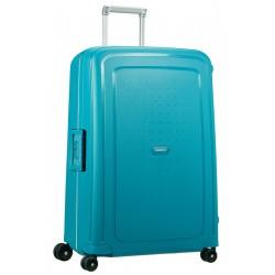 Didelis plastikinis lagaminas Samsonite S-Cure D Mėlynas (Petrol Blue Capri)