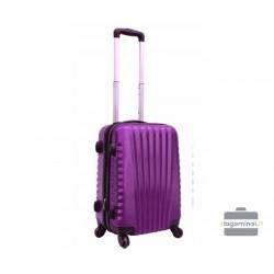 Mažas plastikinis lagaminas Gravitt 888-M Violetinis