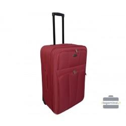 Vidutinis medžiaginis lagaminas Deli 404-V Raudona