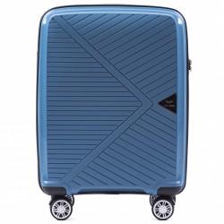 Mažas plastikinis lagaminas Wings PP06 Mėlynas