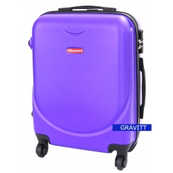 Mažas plastikinis lagaminas Gravitt 310A-M Violetinis