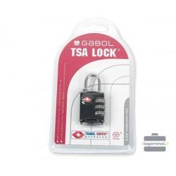 TSA kodinė spynelė lagaminui Gabol