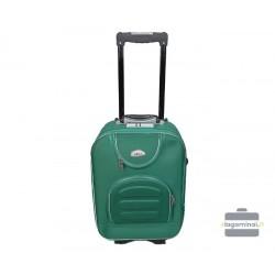 Mažas medžiaginis lagaminas Deli 801-M Žalias