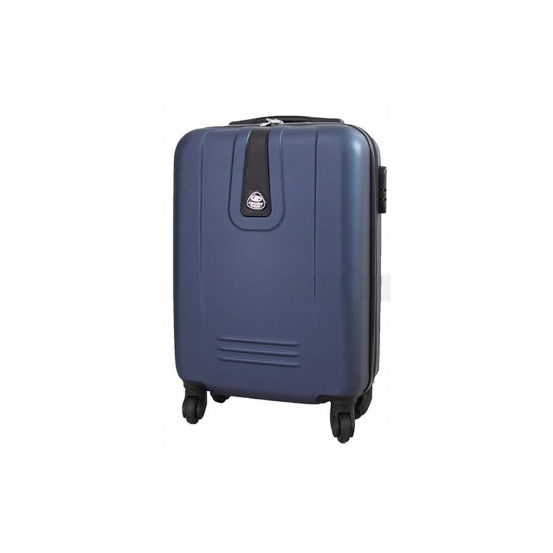Mažas plastikinis lagaminas Gravitt 168B-M Tamsiai mėlynas
