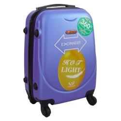 Vaikiškas plastikinis lagaminas Gravitt 310-S Violetinis