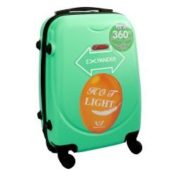 Vaikiškas plastikinis lagaminas Gravitt 310-S Šviesiai žalias