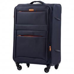 Vidutinis medžiaginis lagaminas Wings 2861-V Tamsiai mėlynas