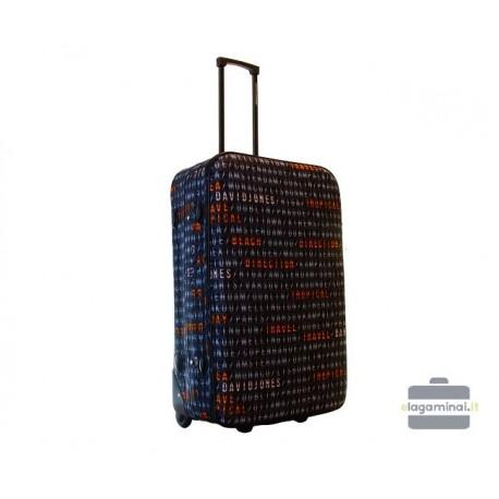Vidutinis medžiaginis lagaminas David Jones 4004-V