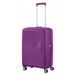 Vidutinis lagaminas American Tourister Soundbox V Violetinis (Violet orchidee)