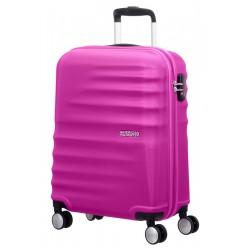 Mažas lagaminas American Tourister Wavebreaker M Tamsiai rožinis (Hot Lips Pink)