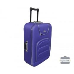 Vidutinis medžiaginis lagaminas Deli 801-V Violetinis