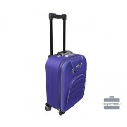 Mažas medžiaginis lagaminas Deli 801-M Violetinis