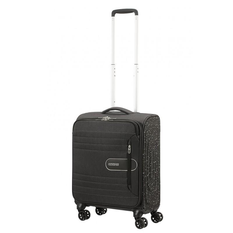 Mažas lagaminas American Tourister Sonicsurfer M-4w Juodas (Black Speckle)