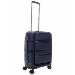 Mažas plastikinis lagaminas Travelite Motion Vorta Tamsiai mėlynas
