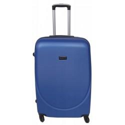 Didelis plastikinis lagaminas Gravitt 866-2Z-D Mėlynas