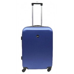 Vidutinis plastikinis lagaminas Gravitt 866-2Z-V Mėlynas