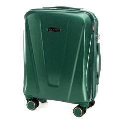 Mažas plastikinis lagaminas Wittchen 56-3P-121 Tamsiai žalias