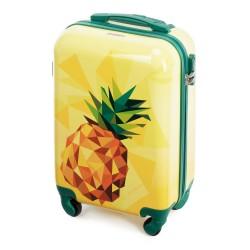 Vaikiškas plastikinis lagaminas Wittchen 56-3A-641 Geltonas