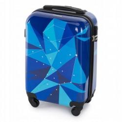 Vaikiškas plastikinis lagaminas Wittchen 56-3A-641 Mėlynas