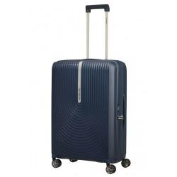 Vidutinis plastikinis lagaminas Samsonite HI-FI V Mėlynas (Dark Blue)
