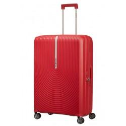 Didelis plastikinis lagaminas Samsonite HI-FI D Raudonas