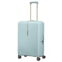 Vidutinis plastikinis lagaminas Samsonite HI-FI V Mėlynas (Sky Blue)