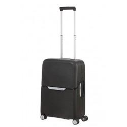 Mažas plastikinis lagaminas Samsonite Magnum M Juodas