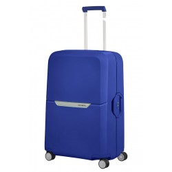 Didelis plastikinis lagaminas Samsonite Magnum D Mėlynas (Cobalt Blue)