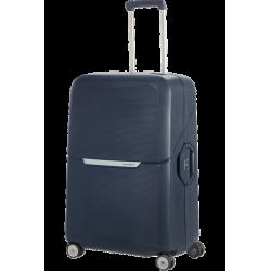 Vidutinis plastikinis lagaminas Samsonite Magnum V Mėlynas (Dark Blue)