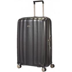 Labai didelis plastikinis lagaminas Samsonite Lite-Cube LD Tamsiai pilkas (Graphite)