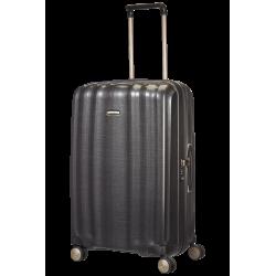 Didelis plastikinis lagaminas Samsonite Lite-Cube D Tamsiai pilkas (Graphite)
