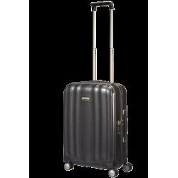 Mažas plastikinis lagaminas Samsonite Lite-Cube M Tamsiai pilkas (Graphite)