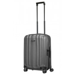 Mažas plastikinis lagaminas Samsonite Lite-Cube DLX M23 Tamsiai pilkas (Eclipse Grey)